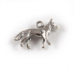 Charm School UK > Sterling Silver Charms > Dogs > Alsatian